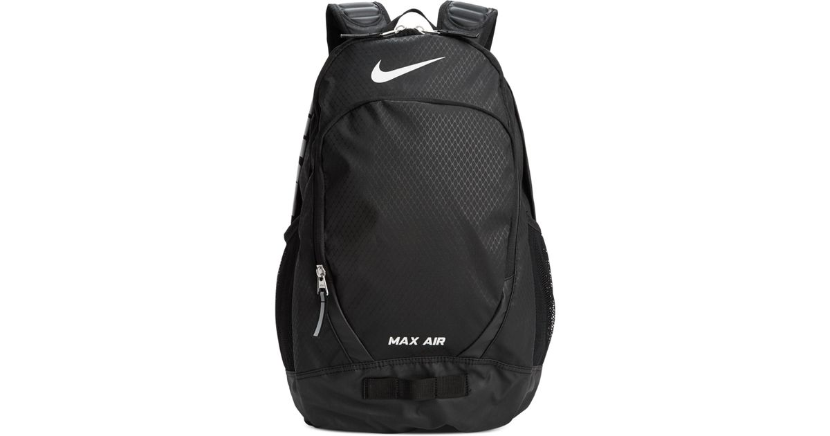 nike max air team training large backpack in black for men