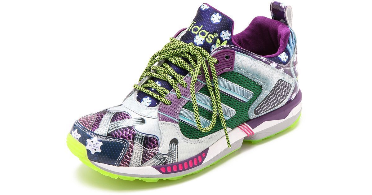 4666ab83f623 ... canada lyst adidas originals zx 5000 sneakers tribe purple silver neo  white in purple eef29 bb468