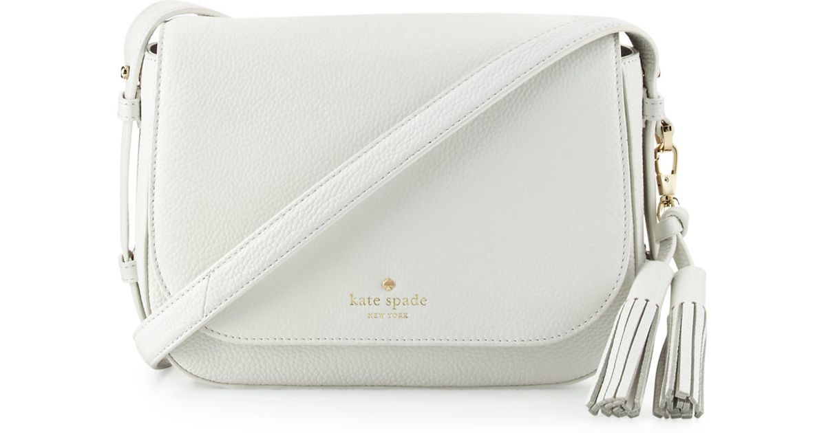 Lyst Kate Spade New York Orchard Street Penelope Crossbody Bag In White