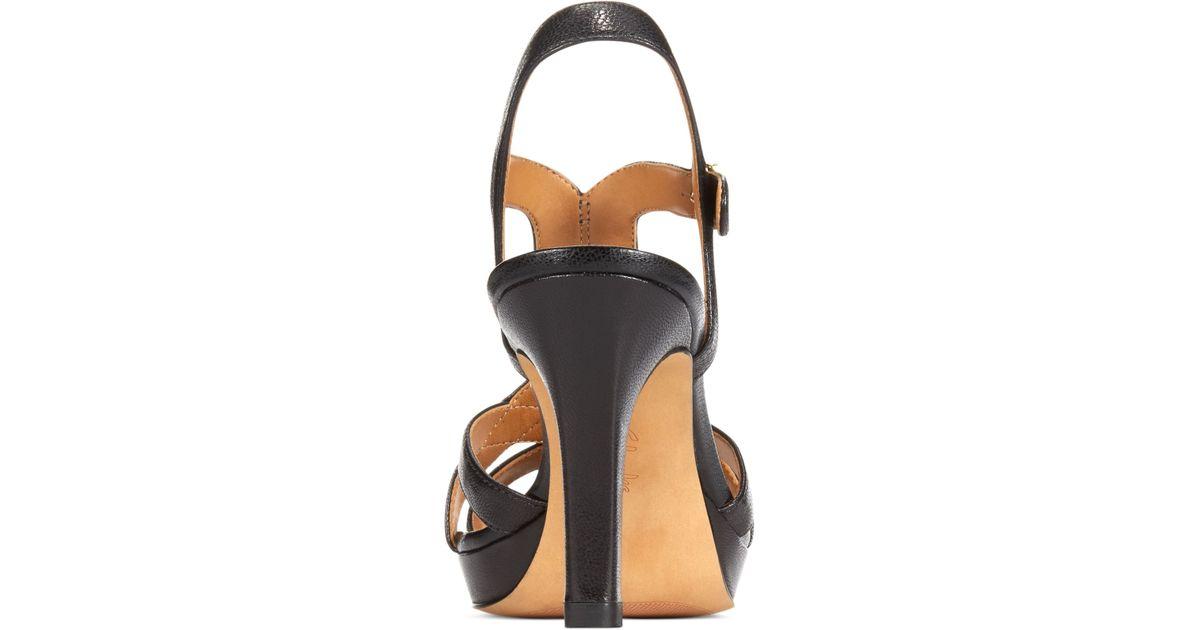 be2d67e18af6 Lyst - Clarks Artisan Women s Delsie Risa Platform Evening Sandals in Black