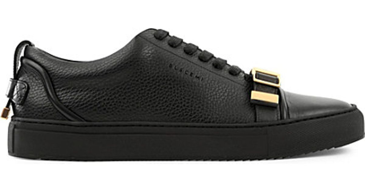 8990daf10966 Buscemi - Black 50mm Leather Low-top Trainers - Lyst