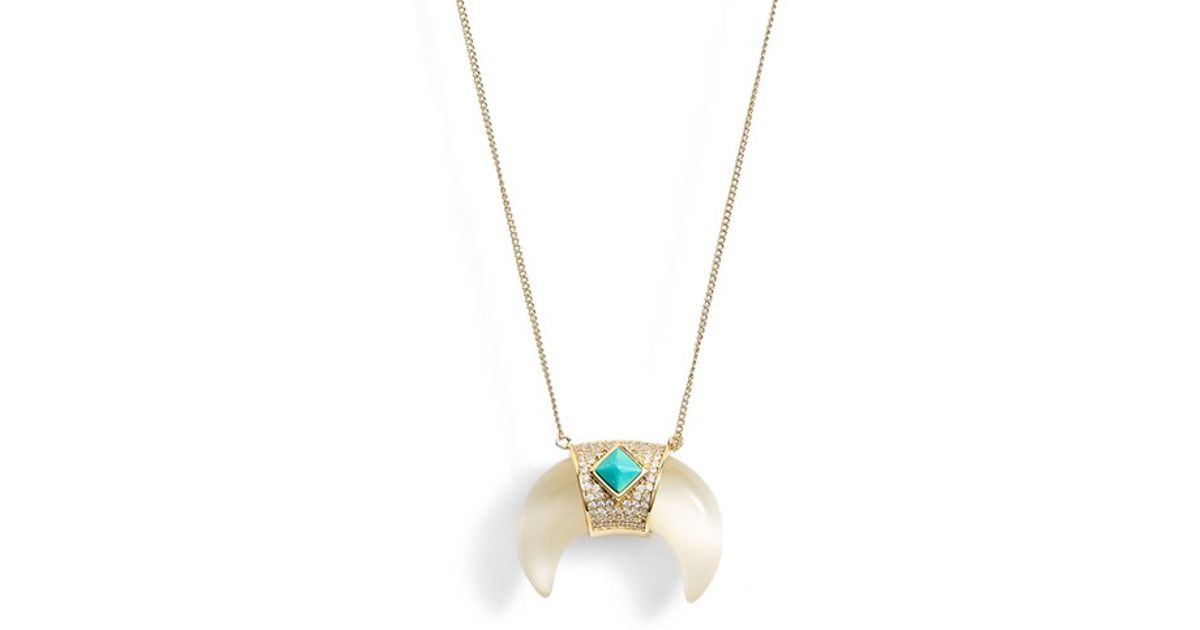 products spotted necklace tusk claire ivory designs annie pendant
