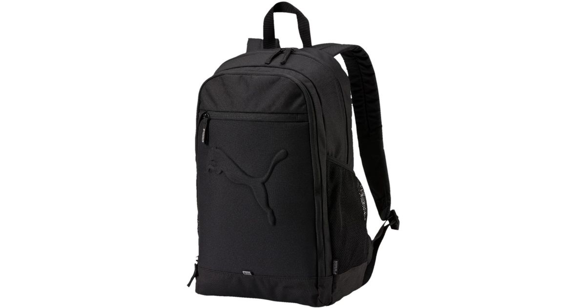 200270c8b4887 PUMA Buzz Backpack in Black for Men - Lyst