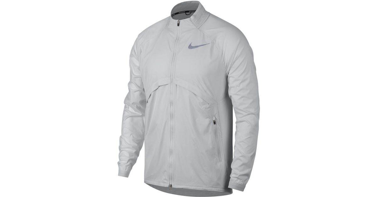70b1d3c75ccb Lyst - Nike Shield Convertible Windcheater Jacket in White for Men