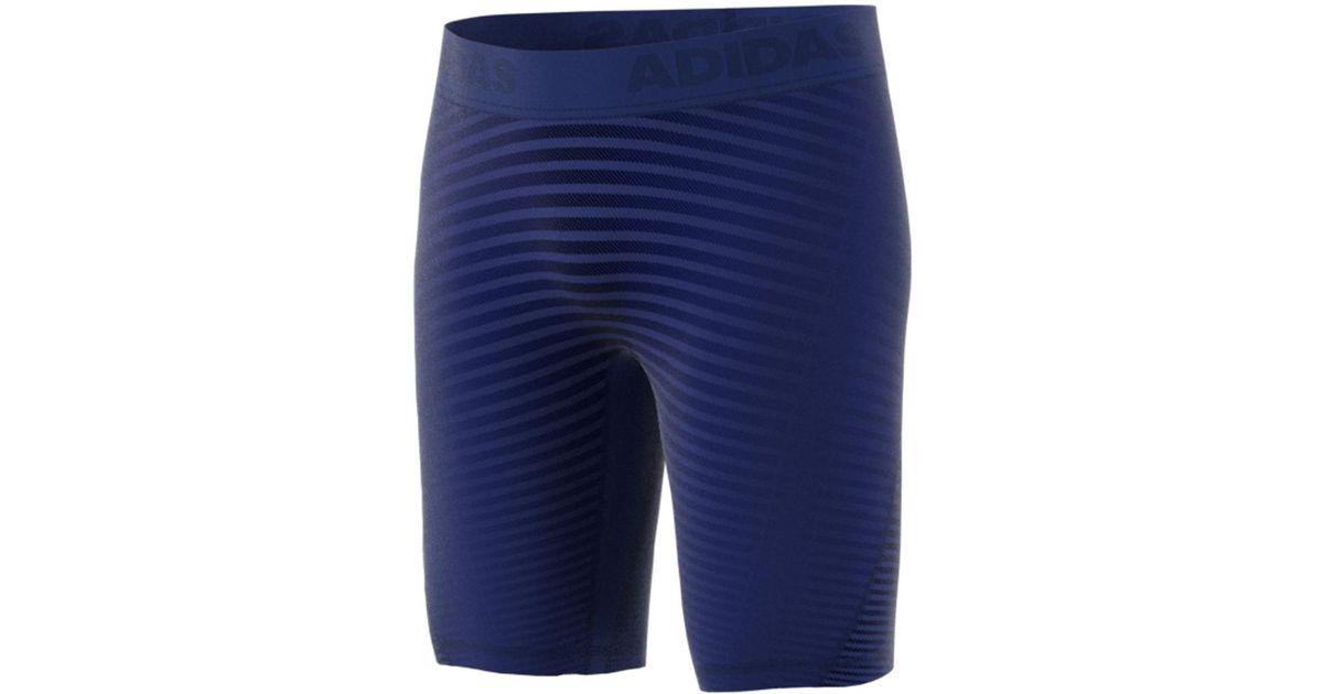 dd367c997 Adidas Alphaskin Sport Graphic Short Leggings in Blue for Men - Lyst