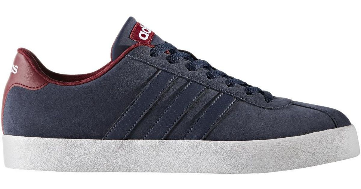 ... free shipping lyst adidas neo court vulc casual trainers in blue for men  e5bb3 42ea3 fe2316de9