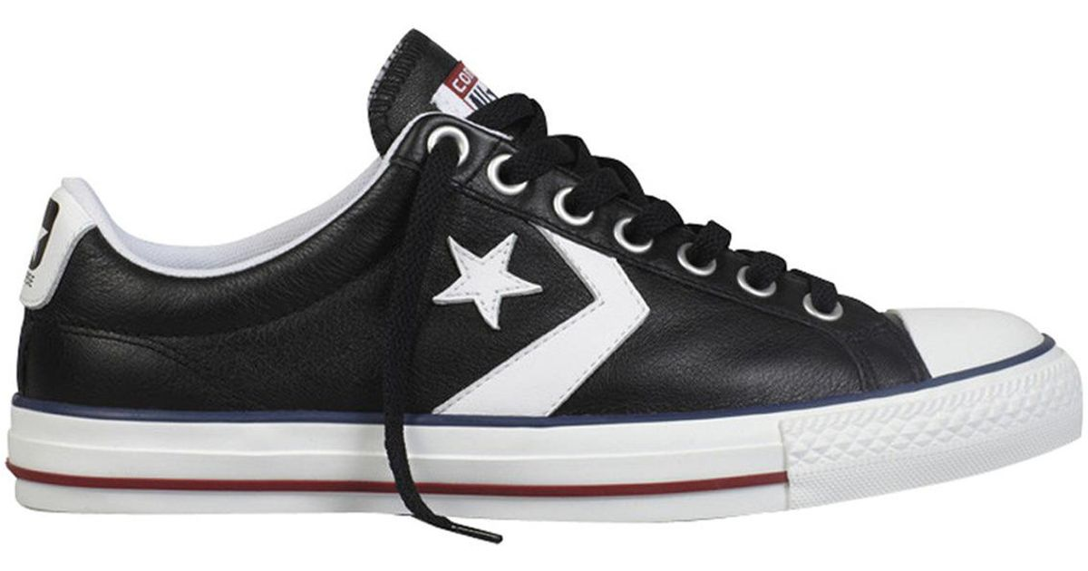 2b1742ee35 Converse Star Player Ev Ox Unisex Casual Trainers in Black for Men - Lyst