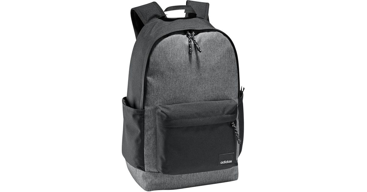 Adidas Xl Daily Backpack in Gray for Men - Lyst eed18f3d3623d