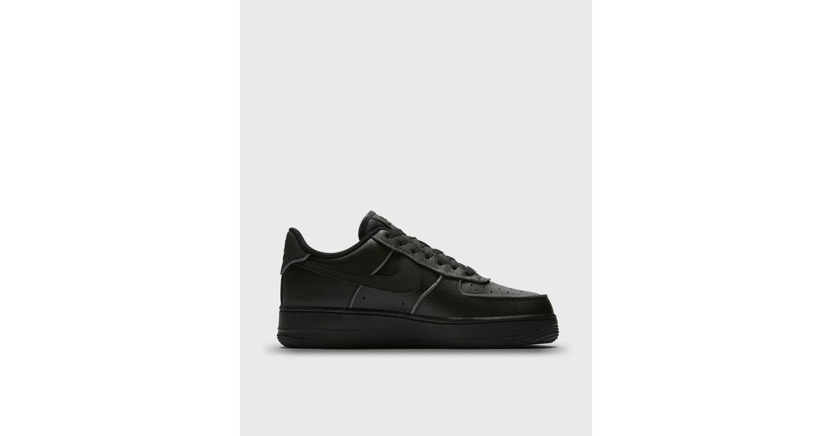 b34d580257ed ... where can i buy lyst nike air force 1 low glitter casual trainers in  black 7b3e3