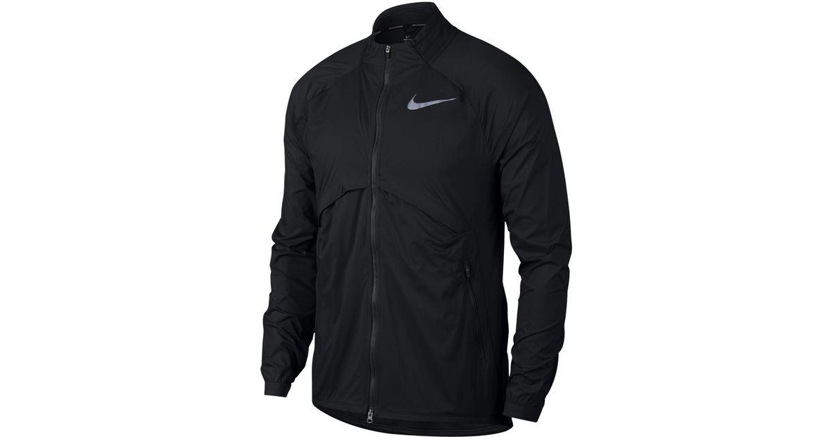 8f7bd7d697ff Lyst Lyst For Windcheater Convertible Black In Nike Men Men Men Shield  Jacket f1xwqS8