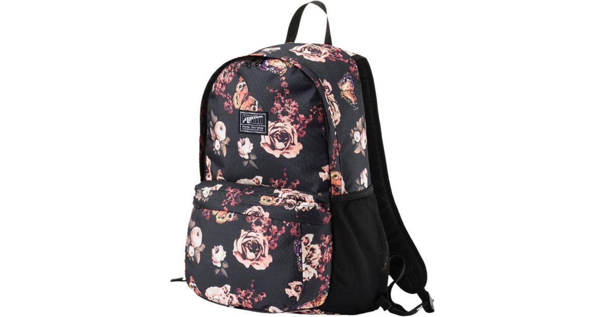 ef9f1ce05b Lyst - PUMA Academy Backpack in Black