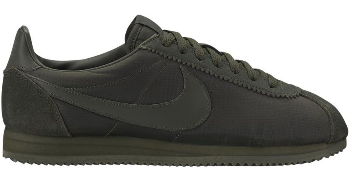 a10f6ba3aa6 Lyst - Nike Classic Cortez Nylon Casual Trainers in Green