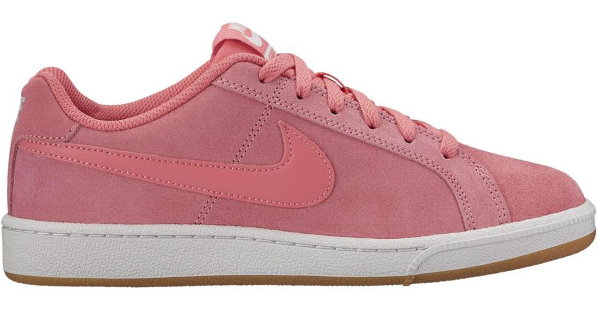 pretty nice d5ea2 eac0f Lyst - Nike Court Royale Suede Casual Trainers in Pink