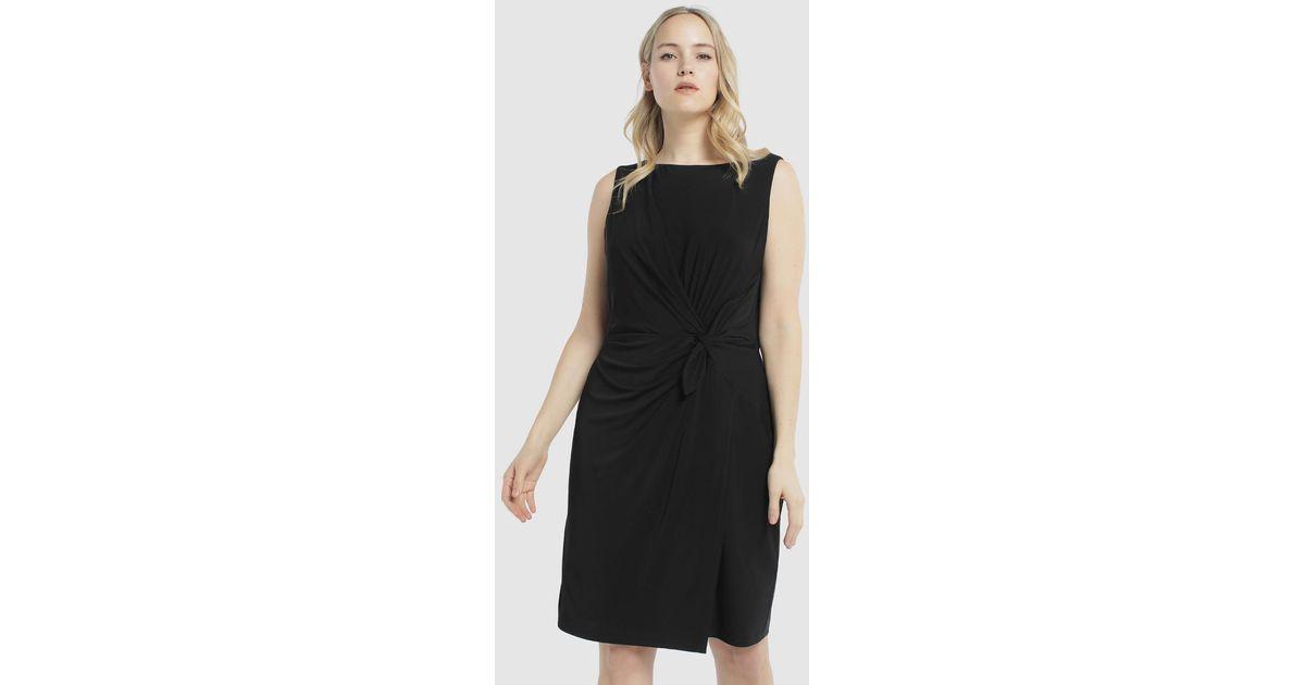 Lyst - Denim & Supply Ralph Lauren Plus Size Short Black Dress in Black