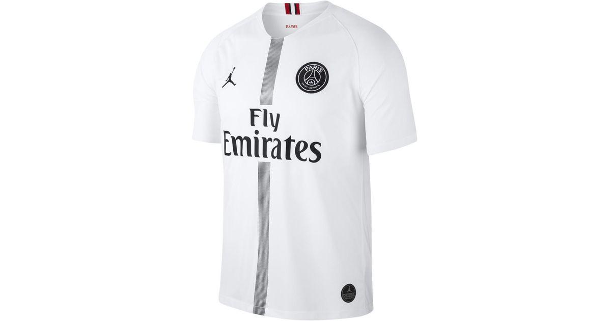 50384fff222 Nike Paris Saint-germain 2018-2019 Breathe Stadium Third Kit Shirt in White for  Men - Lyst