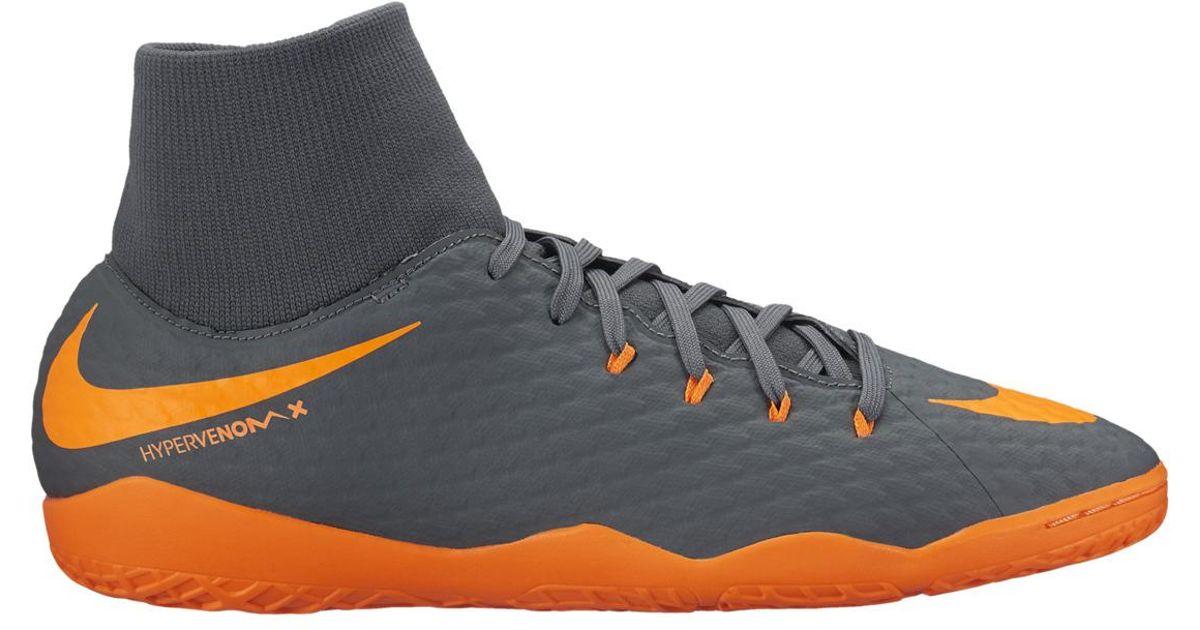 781fa939fd Lyst - Nike Hypervenom Phantomx 3 Academy Dynamic Fit (ic) Indoor Football  Trainers for Men