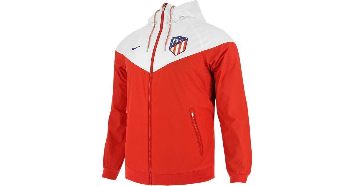 4c1e207758ce Nike Atlético De Madrid 2018-2019 Windrunner Windcheater Jacket in Red for  Men - Lyst