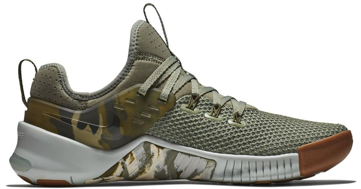 a76a4ee446ebd Nike Metcon Free Fitness/cross Training Trainers in Green for Men - Lyst
