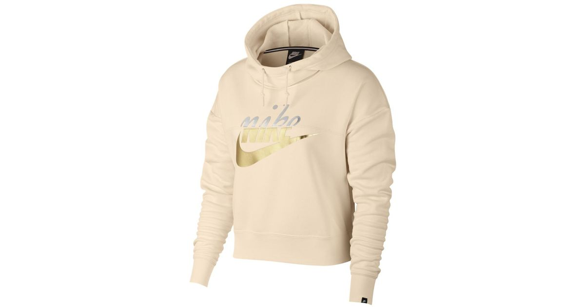 93235eb2a55b Lyst - Nike Sportswear Rally Sweatshirt in Orange