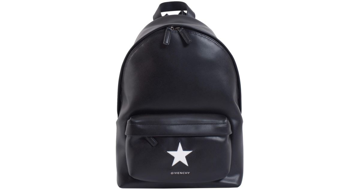 d266a7884c9a Givenchy Leather Mini Backpack In Black Lyst ...