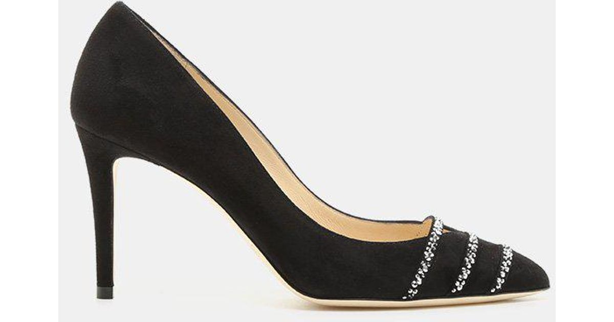 Jimmy Choo Bethan 85mm Pointed Toe Suede Stiletto (Women's) PQA5D