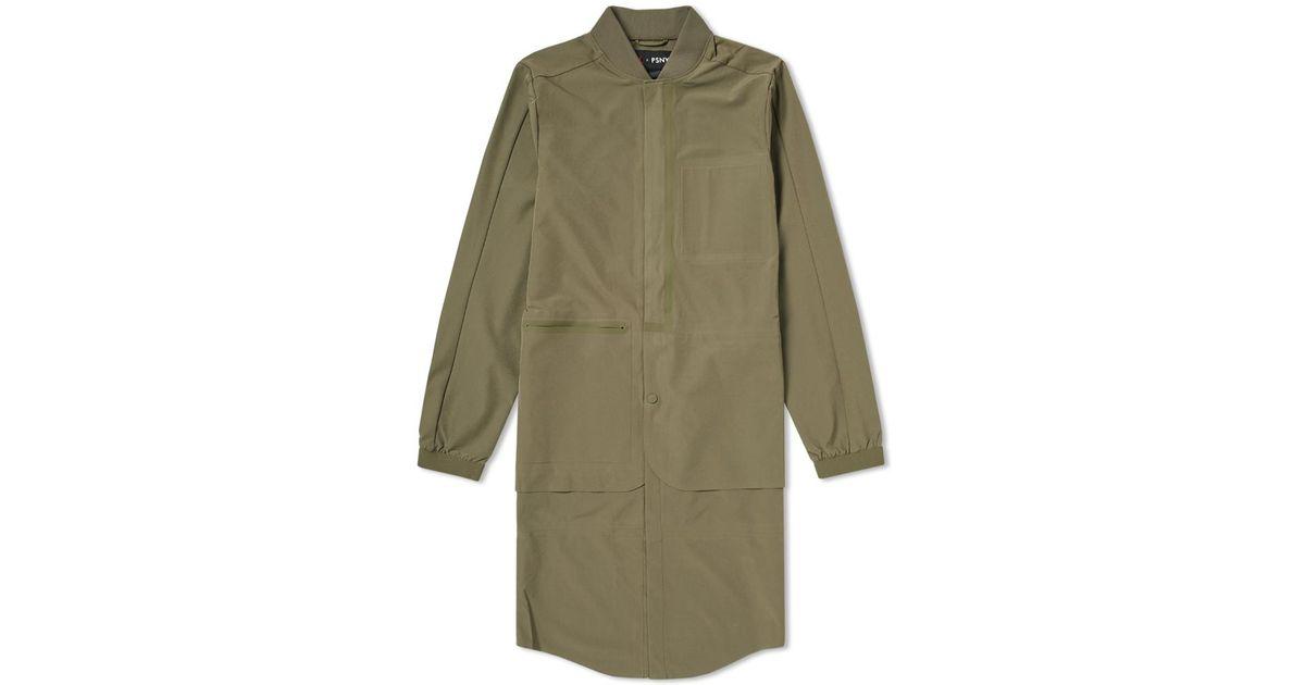 040e99ec8496 Nike Nike Trench X For Tech Psny Green Lyst Jacket In Jordan Men dnAaqdO