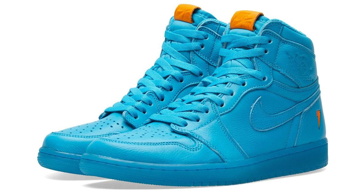 Lyst - Nike Nike Air Jordan 1 Retro Og  gatorade  in Blue for Men e86caa1ca
