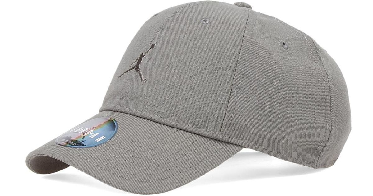 2e318f9381af4 ... air jordan jumpman black cap aw lab cd7c7 903ee wholesale nike nike  jordan jumpman cap in gray for men lyst 12a2a 9f73d ...