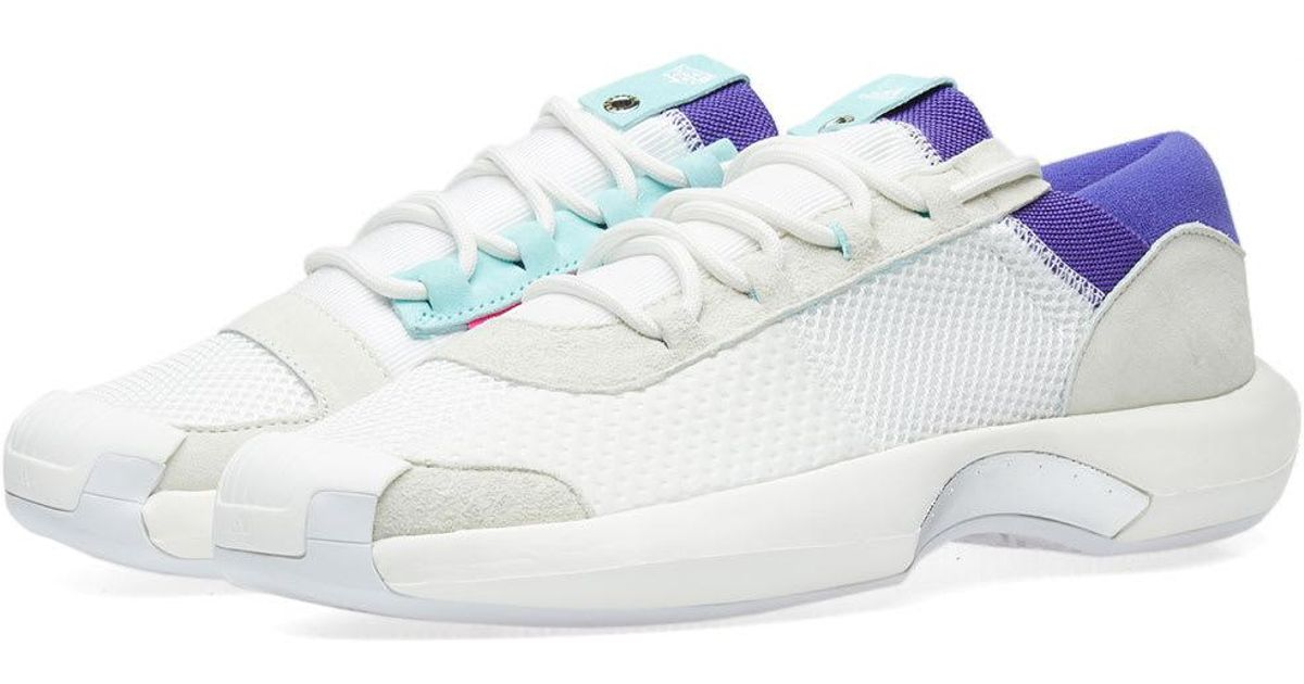 71f6aa227 Lyst - adidas Originals X Nice Kicks Crazy 1 A d in White for Men