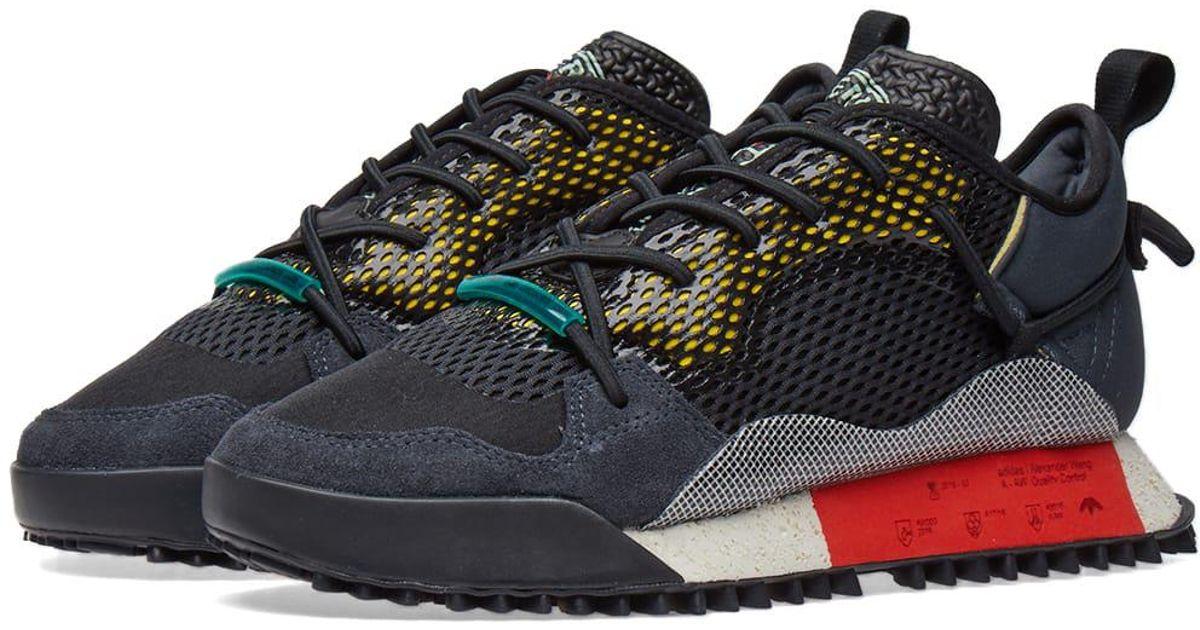 low priced 4f919 99f61 Lyst - Alexander Wang Adidas Originals By Alexander Wang Reissue Run in  Black for Men