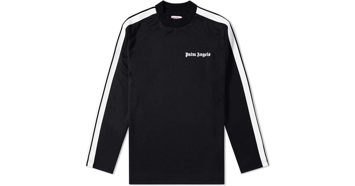 7e85cc16 Lyst - Palm Angels Track Taping Long Sleeve Tee in Black for Men