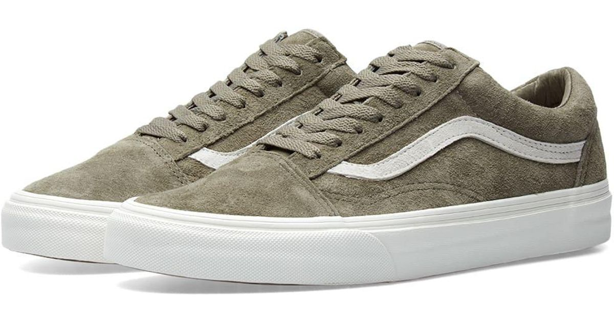 d82dd48906 In Green Men Lyst Skool Pig Suede Old Vans For hBsxrCQdto