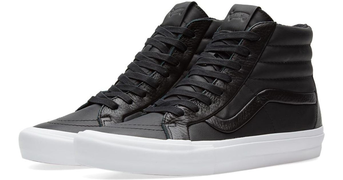 027f472dda Lyst - Vans Sk8-hi Reissue St Lx in Black for Men