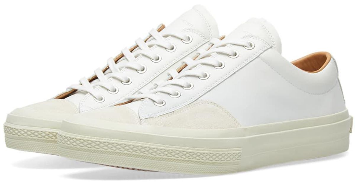 c7c79fd037 Lyst - Dries Van Noten Leather Sneaker in White for Men - Save 25%