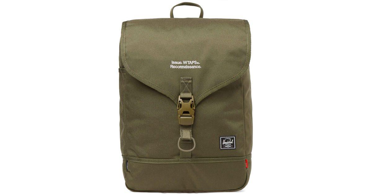 73c9a13dae7 Herschel Supply Co. Herschel X Wtaps Backpack in Green for Men - Lyst