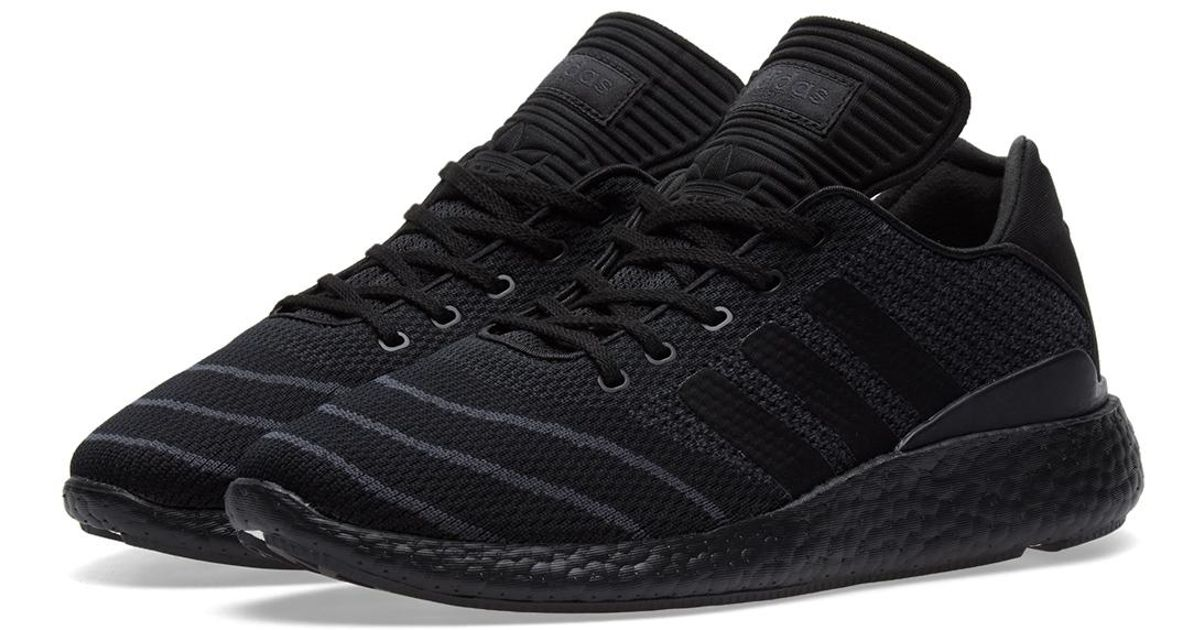 separation shoes b5891 316f1 Lyst - adidas Busenitz Pure Boost Pk in Black for Men