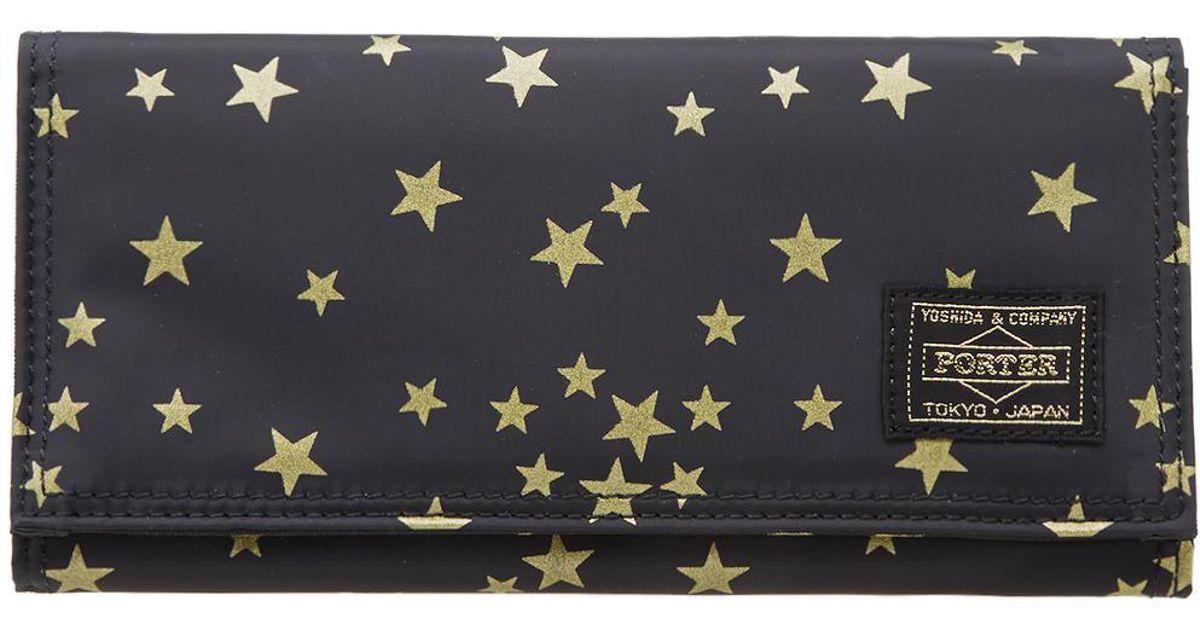 9dbf0c601423 Lyst - Head Porter Stellar Large Wallet in Black