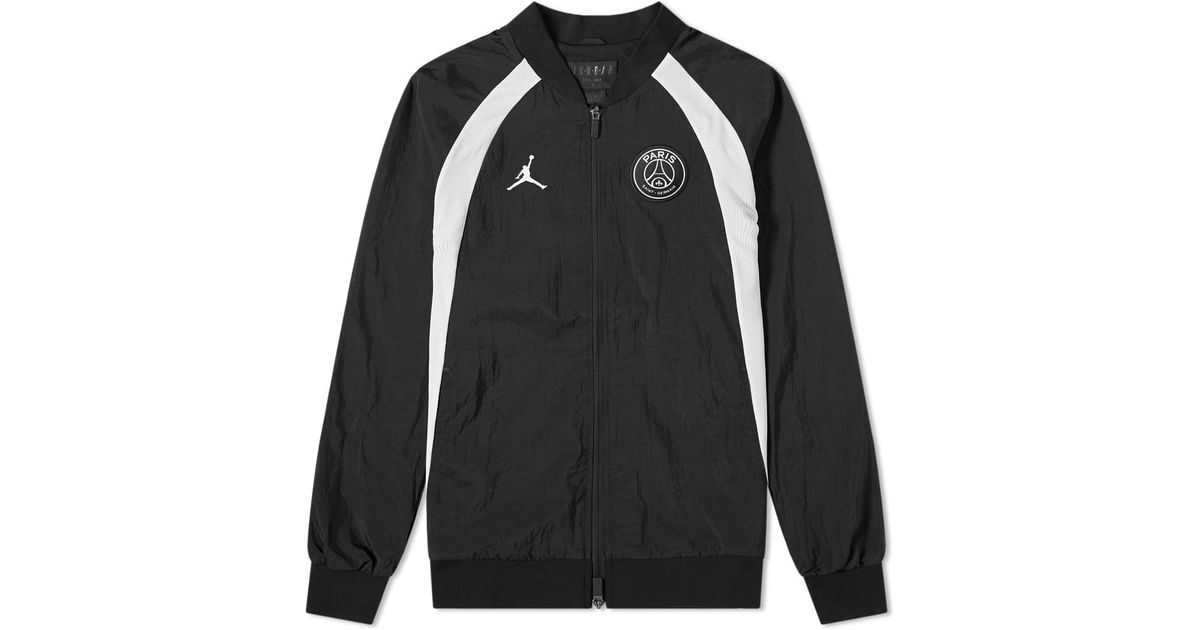 ff7b9c48ec58ff Lyst - Nike Psg Aj 1 Jacket in Black for Men