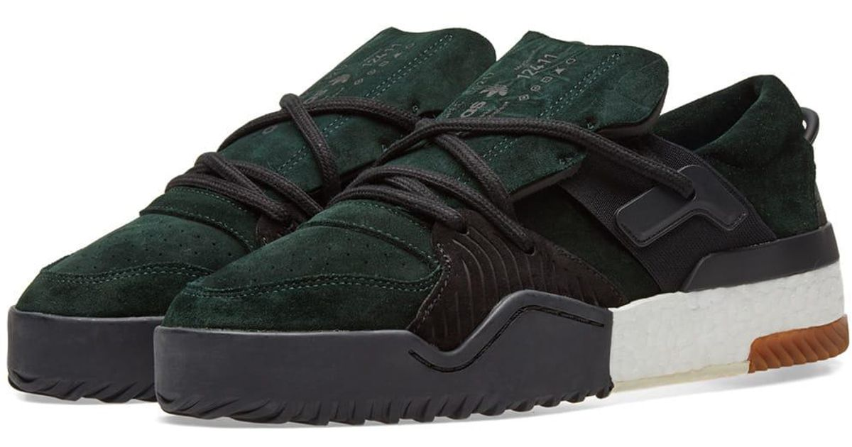 Lyst - Alexander Wang Adidas Originals By Alexander Wang Bball Low in Green  for Men b30c8254fa52