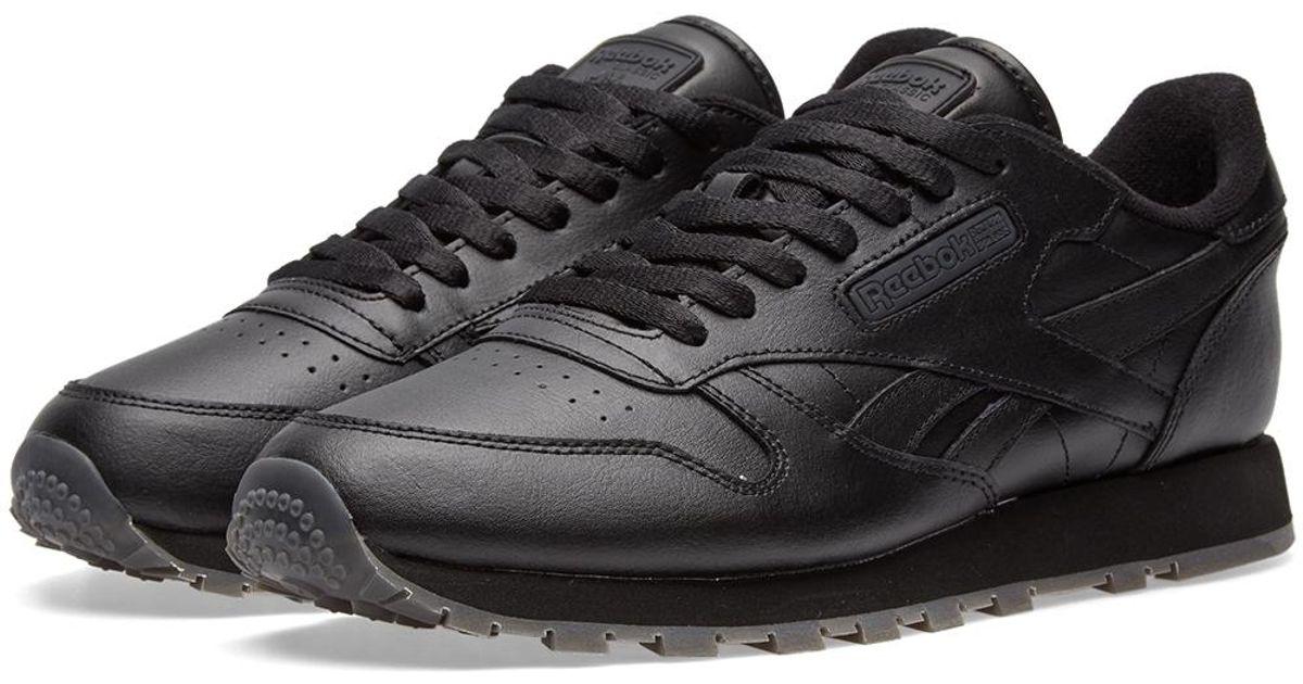 68fa1ffd7551c Lyst - Reebok Classic Leather Solids in Black for Men