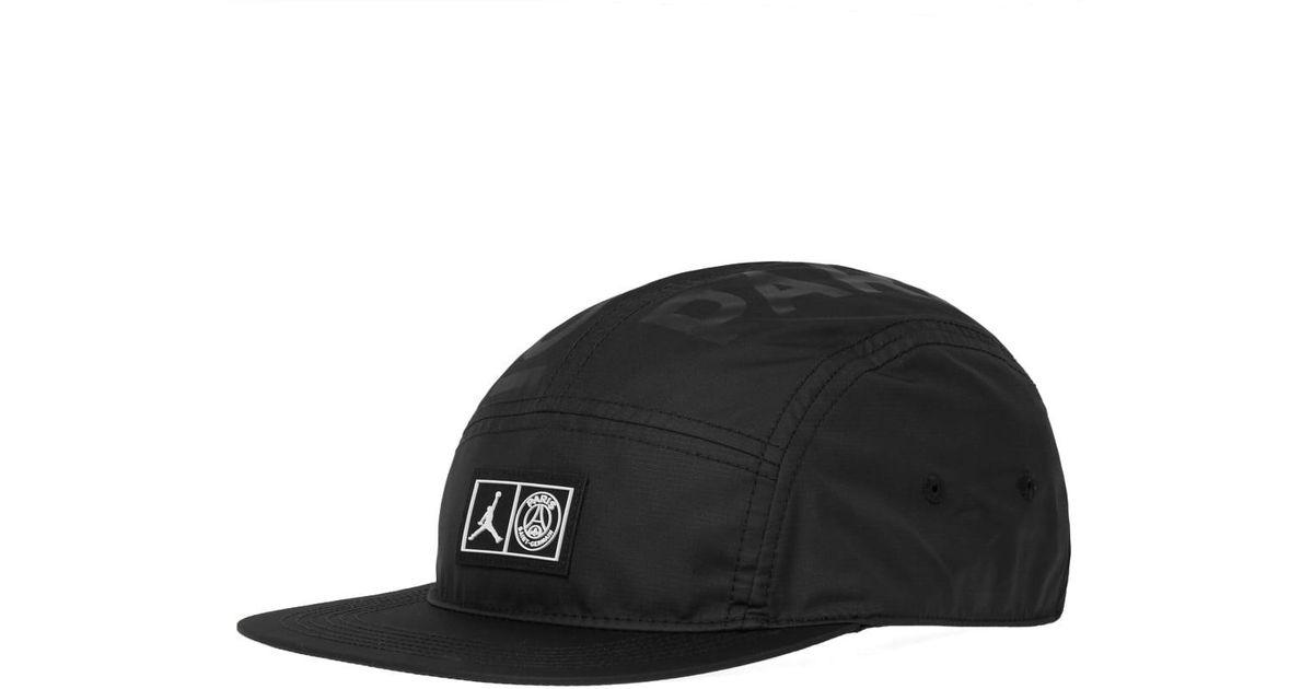89c38e18b04efe Lyst - Nike Jordan X Paris Saint-germain Aw84 Cap in Black for Men