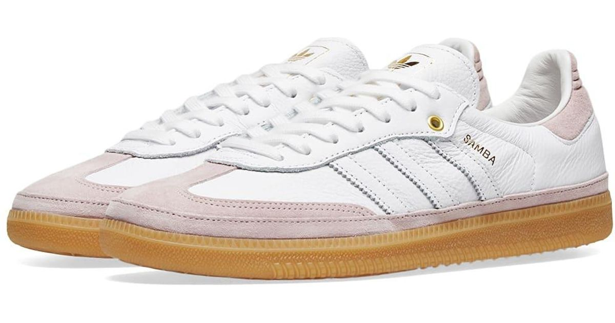 hot product look out for on feet images of Adidas - White Samba Og Relay W - Lyst