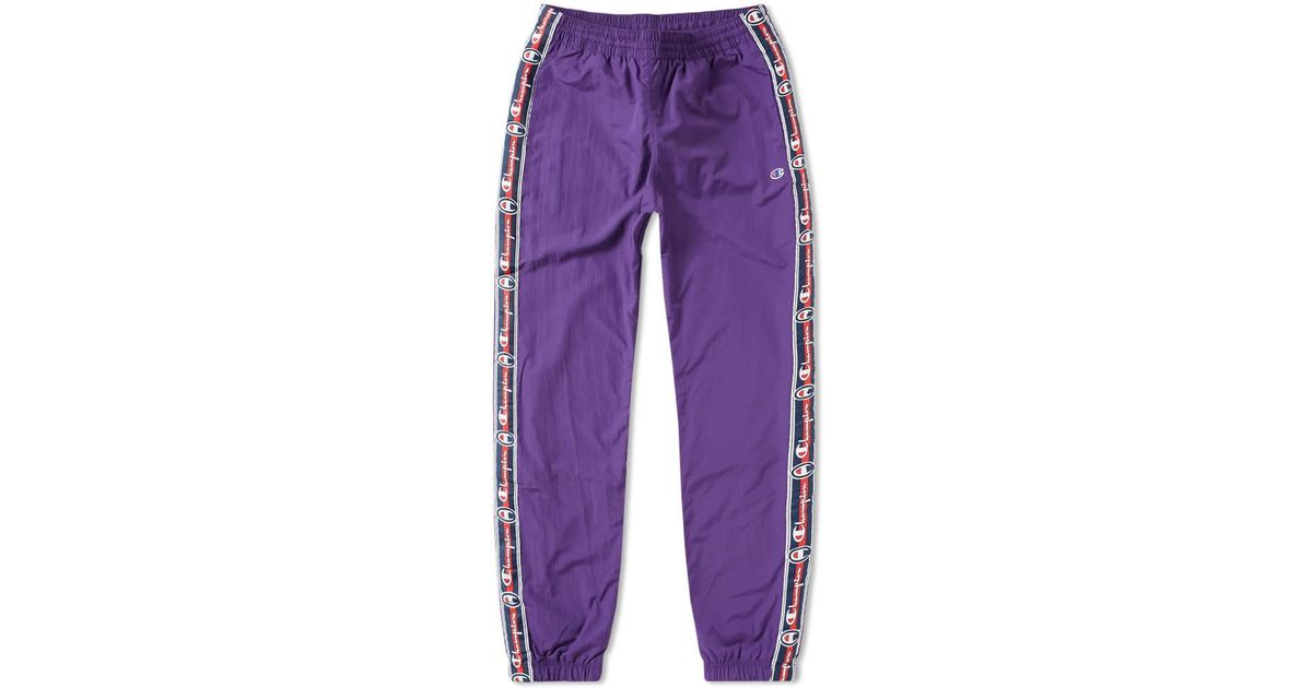 5da2cebdf608 Lyst - Champion Vintage Taped Track Pant in Purple for Men