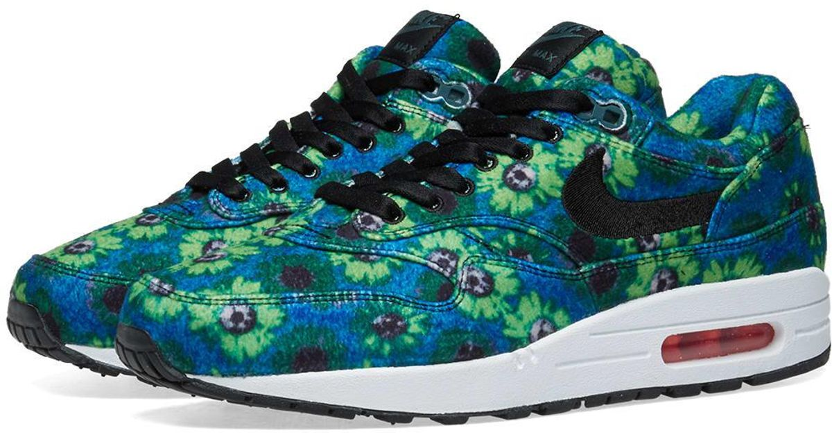 timeless design 3a357 faf76 Lyst - Nike Air Max 1 Premium Se  floral  in Green for Men