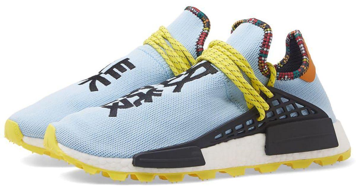 32bbebacc1749 Lyst - adidas Originals Adidas By Pharrell Williams Solarhu Nmd in Blue for  Men