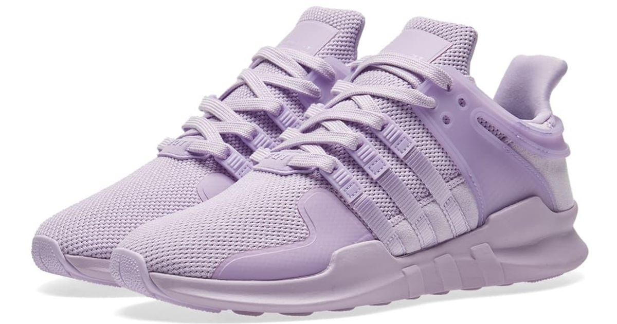 premium selection d245b ae037 Lyst - adidas Eqt Support Adv W in Purple for Men