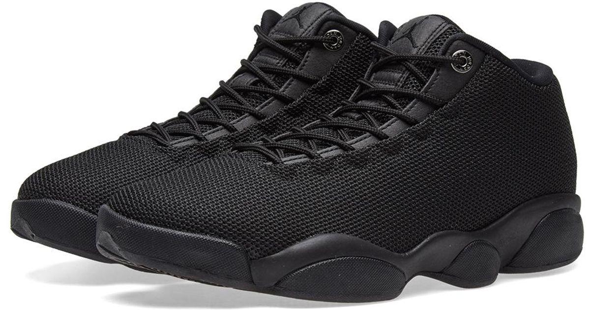 a9ea23b2e7fa29 Nike Nike Air Jordan Horizon Low in Black for Men - Lyst