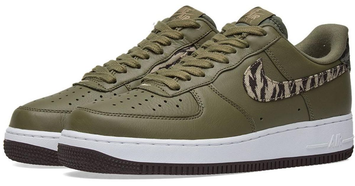 64b261e739f7 Lyst - Nike Air Force 1 Premium  tiger Camo  in Green for Men