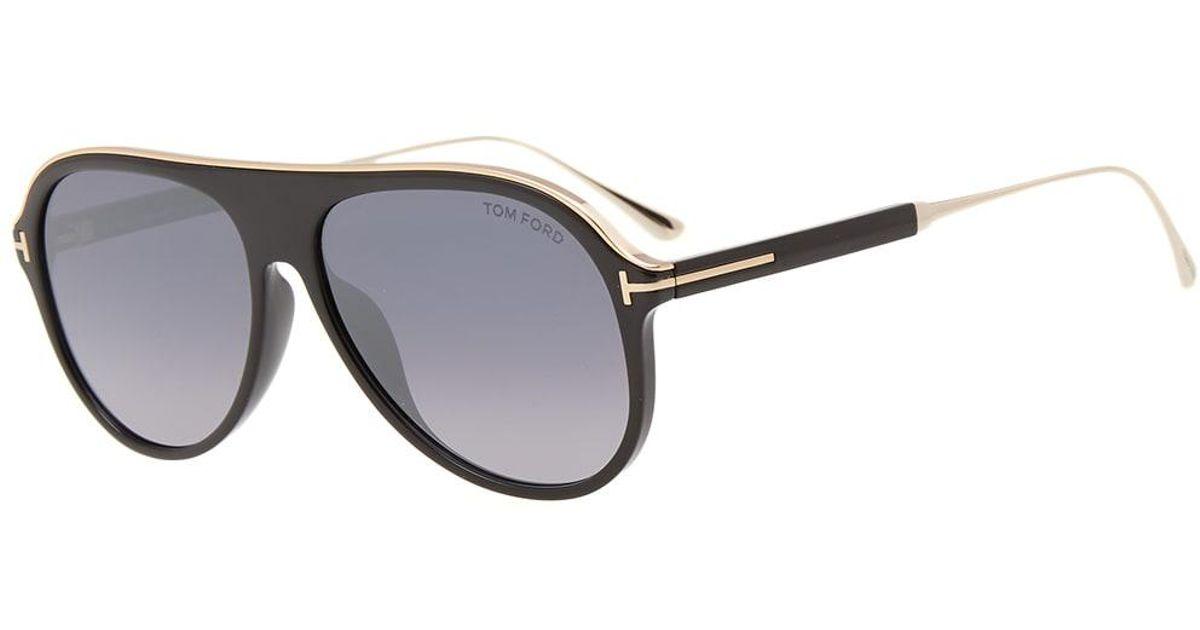 b91d6693850 Tom Ford Tom Ford Ft0624 Nicholai-02 Sunglasses in Black for Men - Lyst