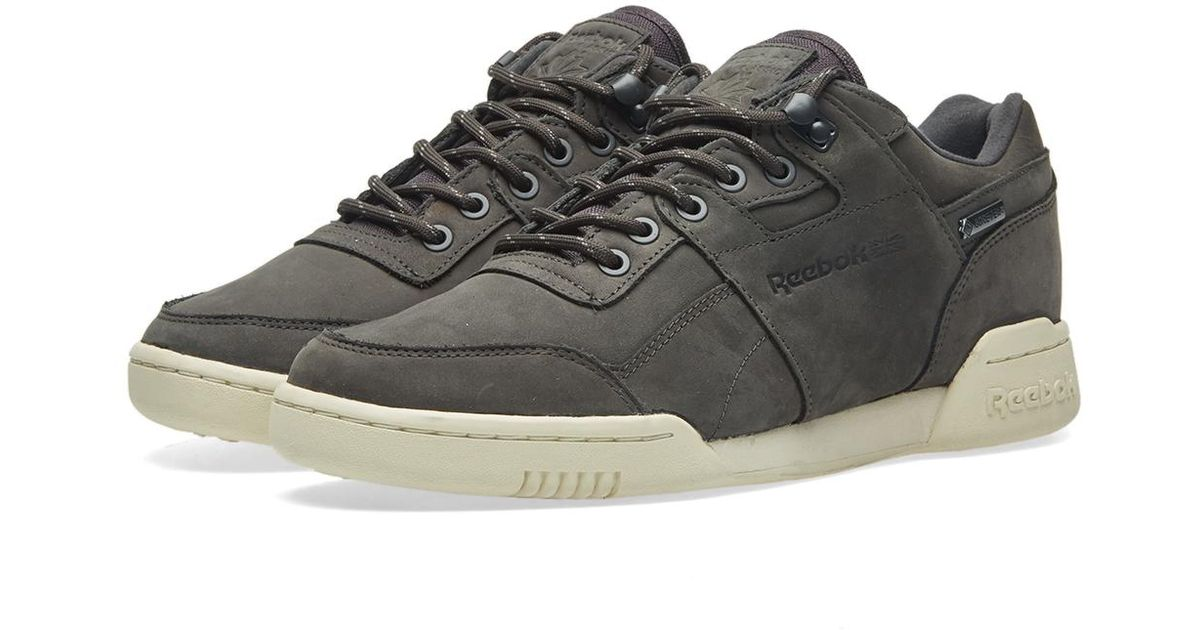 c1ccdac8cd7a Lyst - Reebok Workout Plus Gore-tex in Gray for Men